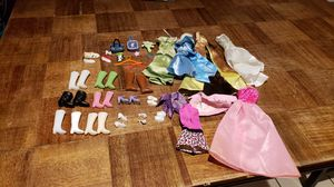 Barbie clothes and doll shoes for Sale in Chesapeake, VA
