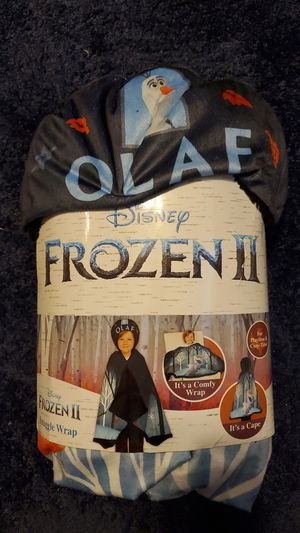 Frozen 2 snuggle wrap for Sale in Dover, PA
