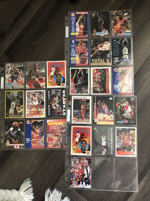 Olajuwon vintage collectible cards for Sale in Los Angeles, CA