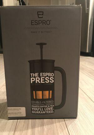 Coffee maker ESPRO PRESS P7 32oz for Sale in Boston, MA