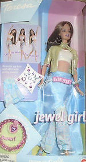 NRFB Doll Teresa Ever-flex Waist JEWEL Girl Barbie Friend 2000 Mattel for Sale in Woodbridge, VA