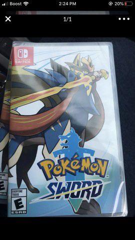 Pokemon sword for Sale in Redlands, CA