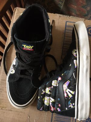 Vans toy story Buzz Lightyear sz 6 women's. Men's or boys 4.5 see tag for Sale in La Puente, CA