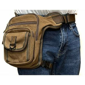 Brand NEW! Brown Canvas Waist/Hip/Thigh/Leg Holster Style/Pouch/Bag For Traveling/Outdoors/Hiking/Biking/Sports/Hunting/Everyday Use/Work/Gifts for Sale in Carson, CA