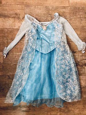 Princess Elsa Dress - NWT - Frozen - Authentic Disney - Costume - Size 4/5 T for Sale in Grand Island, FL