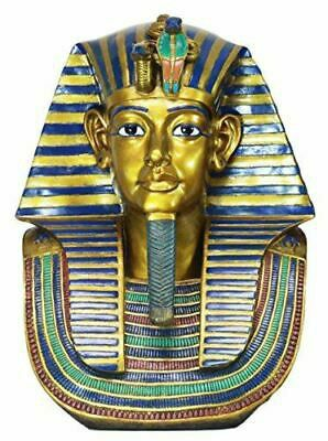 """Large 26""""H Ancient Egyptian King Tut Bust Statue Burial Mask Nemes Antique for Sale in Atlanta, GA"""