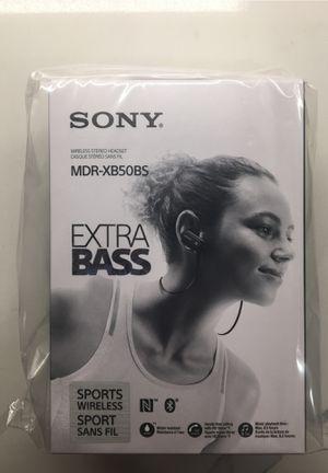 Sony Wireless Bluetooth Sports Headphones for Sale in Houston, TX