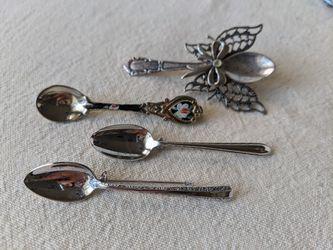 Vintage Mini Spoon Brooch, Gift for Baker, Spoon Jewelry, Small Spoon Pin for Sale in Alpharetta,  GA