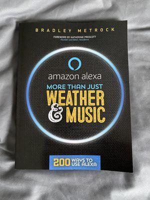 Amazon Alexa book for Sale in Fredericksburg, VA