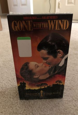 Unopened Gone with the Wind 2 sets VHS tapes for Sale in Bunker Hill, WV
