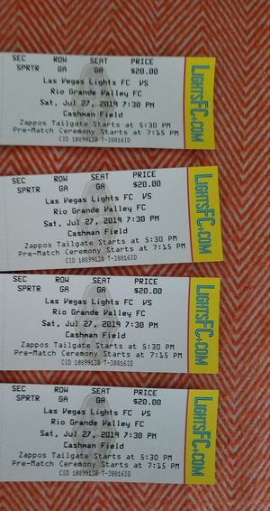 Tickets for Sale in Las Vegas, NV