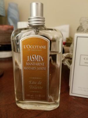 L'Occitane en provence Jasmin Mandarine eau de toilette perfume. 3.4oz for Sale in Seattle, WA