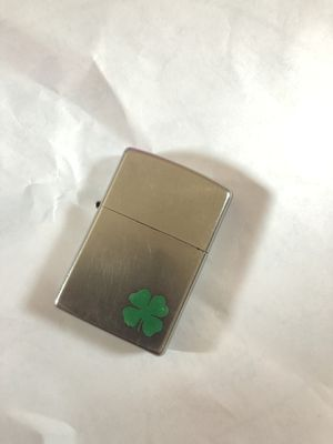 4 Leaf Clover Zippo Lighter (Without Box) **Lightly used** for Sale in Johnston, RI