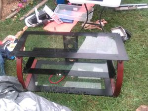 Glass Entertainment Stand for Sale in Washington, MO