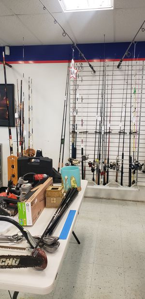 Fishing rods reels and combos for Sale in Tampa, FL