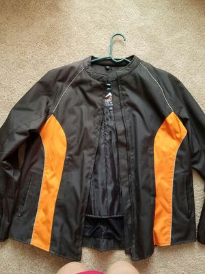 New poly motorcycle jacket..xlg for Sale in Skippers, VA