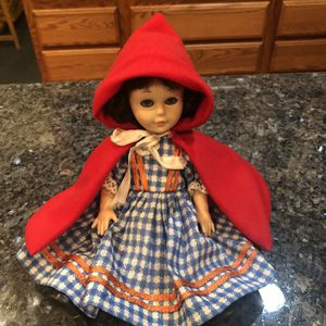 Vintage Rare Little Red Riding Hood Doll Made in Greece Pre-owned for Sale in Artesia, CA