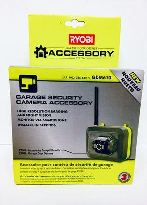 Ryobi Security Camera Module For Garage Door Opener Motion Sensor WiFi Enabled wireless for Sale in Huntington Park, CA