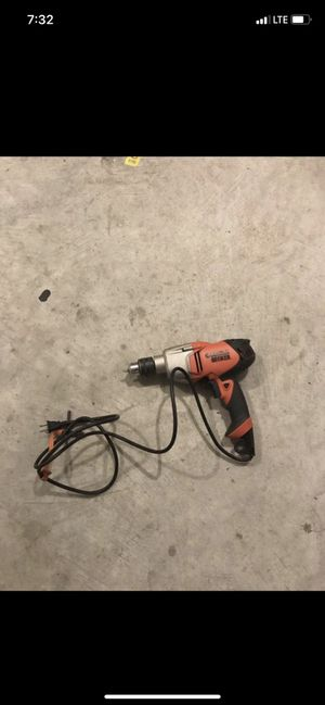 Black and Decker wired power drill for Sale in Stone Mountain, GA