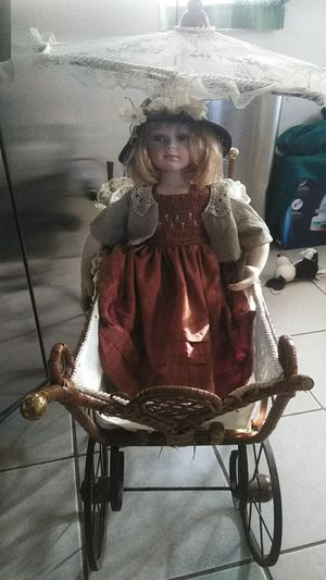 Antique Victorian Doll Stroller for Sale in Clementon, NJ