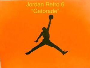 "Jordan 6 Retro ""Gatorade"" for Sale in Land O Lakes, FL"