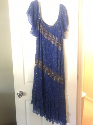 Beautiful new hand made Indian beads and sequence dress. for Sale in Fremont, CA