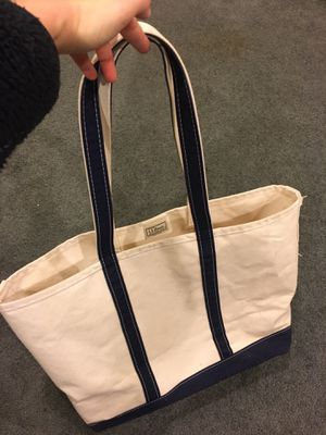 LL Bean Canvas Tote Bag for Sale in Seattle, WA