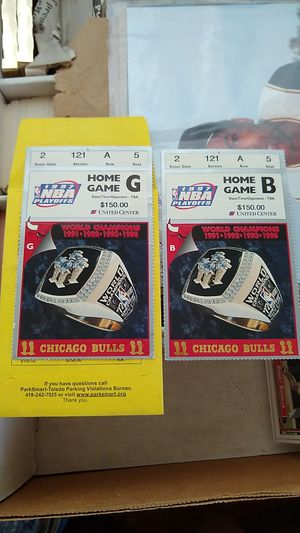 1997 NBA Playoff Tickets for Sale in Perrysburg, OH