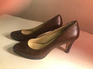 Cole Haan brown low blond heels for Sale in Alexandria, VA