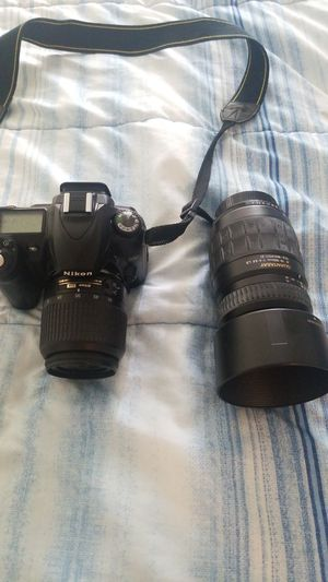 Nikon D50 and telemacron lens for Sale in Rancho Cucamonga, CA