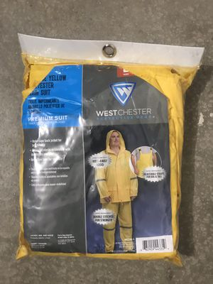 West Chester yellow rain suit for Sale in Murrieta, CA
