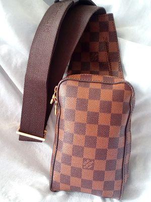LOUIS VUITTON DAMIER WAIST CHEST CROSSBODY SHOULDER BAG for Sale in Houston, TX