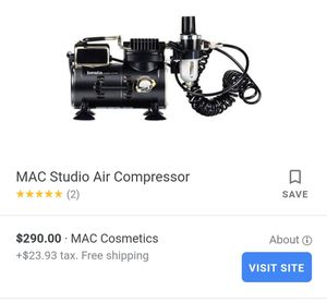 Air brush mac makeup machine for Sale in Abilene, TX