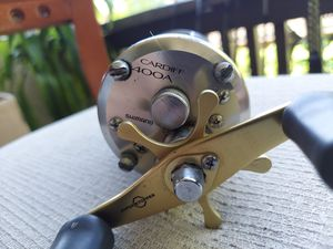 Shimano fishing reel . Rods available. for Sale in Santa Ana, CA