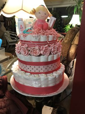 Cake diaper free for Sale in Alexandria, VA