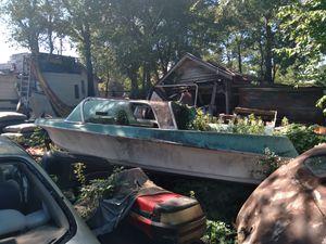 Retro boat needs restored has trailer for Sale in Smyrna, GA