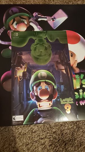 Luigi's Mansion posters for Sale in Buena Park, CA