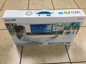 Nintendo Wii U Wii Fit U Balance Board, Game & Fit Meter Accessory Bundle Set for Sale in Elk Grove, CA