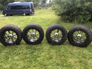 Tires and rims set of 4 for Sale in Auburn, WA