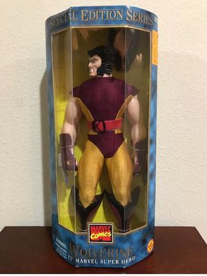"""Wolverine original costume 12""""Inch Collectible toy for Sale in Tampa, FL"""