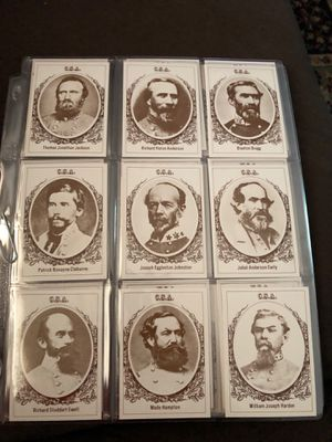 50 card American Generals produced by Frank Garo. 50 card complete set near mint condition for Sale in Normal, IL