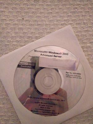 Microsoft Windows 2000 Advanced Server Software for Sale in Spring Hill, FL