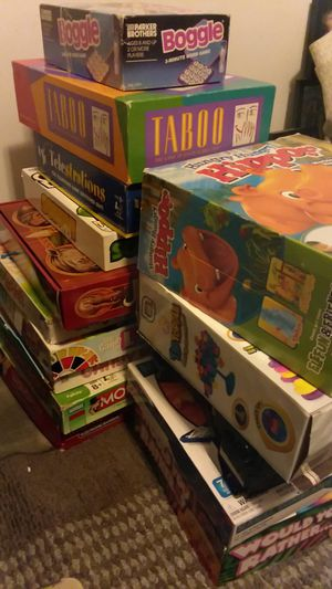 board games for Sale in Plainfield, IL
