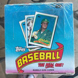1989 Topps Baseball Cards - Full Box for Sale in Garden Grove, CA