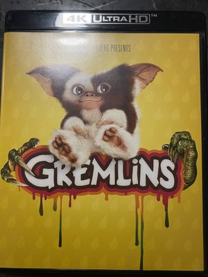 Gremlins Blu-ray 4K digital Copy Only for Sale in San Diego, CA