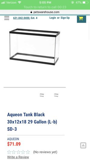 29 gallon fish tanks for Sale in Miami, FL
