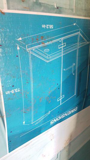 Glass shower door for Sale in San Antonio, TX