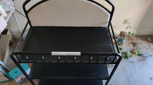 Metal changing table for Sale in Tempe, AZ