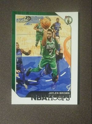 2018-19 Panini Jaylen Brown Boston Celtics #106 Rookie Basketball Card Collectible Sports for Sale in Salem, OH