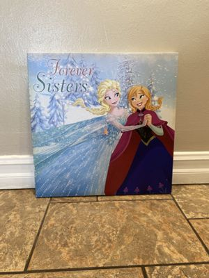 Disney Frozen Sisters Forever Painting for Sale in Huntington Beach, CA